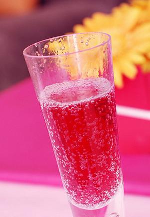 Blushing Champagne Punch