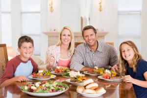 Family meals good for health
