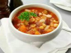 Simple Pasta Fagioli Soup