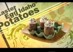 Easter Eggs With Idaho Potato