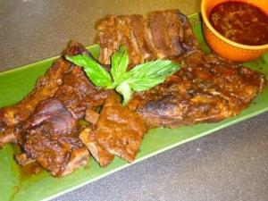 Spare Ribs Made in Slow Cooker
