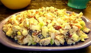 Crunchy Apple Chicken Salad