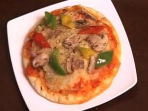 Pizza - Mushroom Pepper Pizza