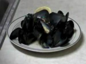 Italian Peppered Mussels