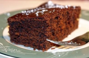Christmas Gingerbread Cake