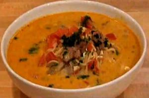 Peruvian Sopa Criolla Soup