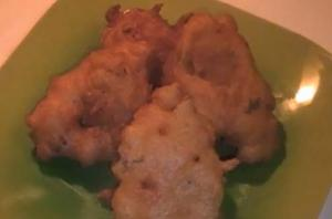 Cod Fish Fritters