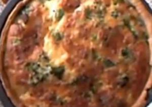 Stilton Cheese And Broccoli Quiche