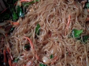 Korean Food Stir Fried Noodles