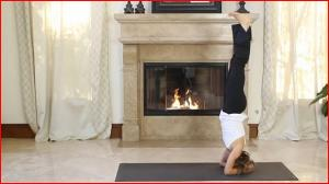 Advanced Headstand Yoga Pose (Sirsasana) with Holly Mosier