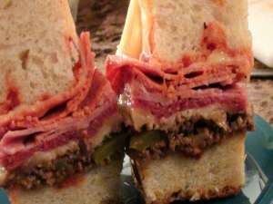Habs Hockey Hero Sandwich