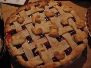 Cherry Nut Pie
