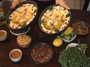 Traditional Arabic Hommus - Garbanzo Beans / Chick Pea Dip