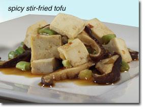 Spicy Stir-Fried Tofu