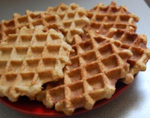 Oat Bran Buttermilk Waffles