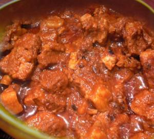 Hot Pork Vindaloo