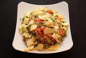 Vegetable N' Cracked Wheat Salad