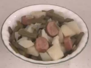 Smoked Sausage, Green Beans And Potatoes Recipe