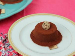 How to Make Chocolate Custard with Raspberry Dark Chocolate Center - Masterchef