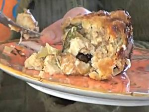 New Tracy Porter Cooking Video... Goddess Savory Bread Pudding!