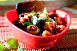 Koonthal Masala (Squid Pan Fried in Masala)