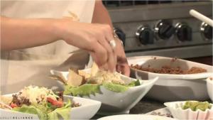 Taco TVP Salad