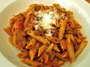 Italian Chopped Meat Pasta Sauce