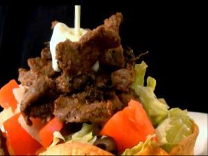 Steak and Avocado Carnita Salad