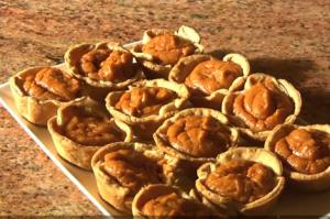 Holiday Series: # 3 Sweet Potato Tartlets