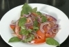 Tomato, Onion and Basil Salad