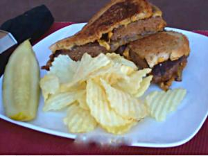 Authentic Patty Melt Sandwich