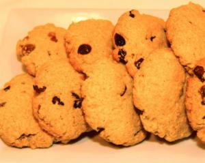 Pumpkin and Raisin Cookies