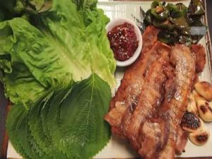 Korean Pork Belly {Samgyeopsal Gui}