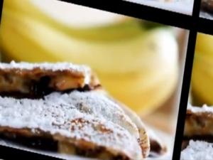 PB & C Banana Quesadilla