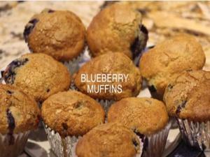 Muffins (Blueberry Muffins)