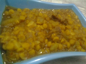 Chana Dal with Lauki