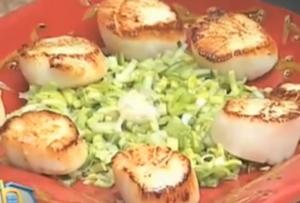 Tony Caputo's Leek and Scallop Salad