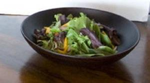 Cabbage Olive and Green Bell Pepper Salad