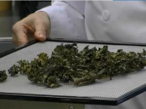 Healthy Junk Food: How to make Kale Chips!