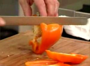 The Right Way to Dice Bell Pepper