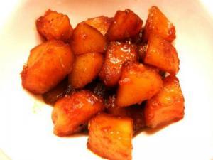 Braised Celery and Potato