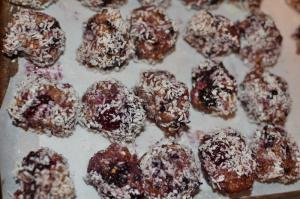 BLack berry balls