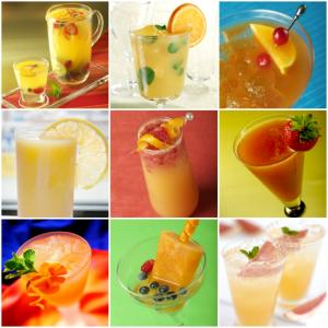 summer cooler drinks