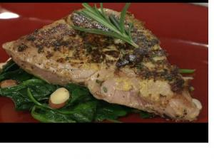Herb Crusted Tuna Steaks