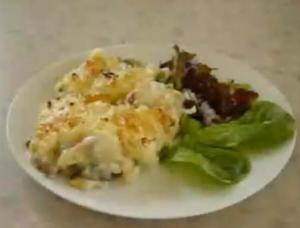 Low Fat Smoked Haddock Pie