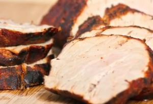 Pork Loin Grilled