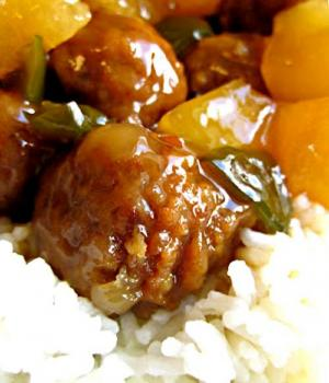 Sweet and Pungent Meatballs