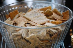 Poppy Seed Crackers