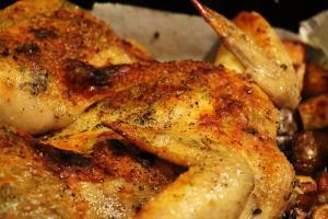 Scandinavian Broiled Chicken