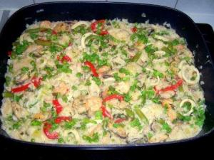 Seafood Casserole With Chicken Bouillon
